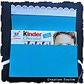 2011 - POCHETTE DE KINDER ouvert