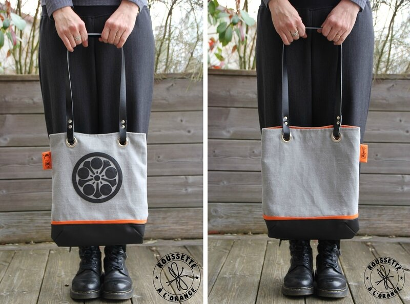 ToteBag Camon Steph recto&Verso