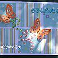 Une envolée de papillons ...