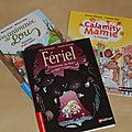 Petites lectures : calamity mamie, fériel et lou !