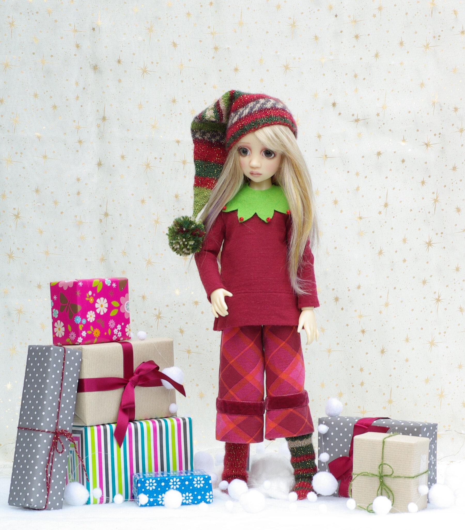 Maddison, petit lutin de Noël