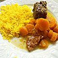 Bœuf braisé aux carottes et au chorizo