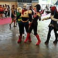 Groupe cosplay