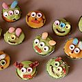 Minis cupcakes extra-terrestres