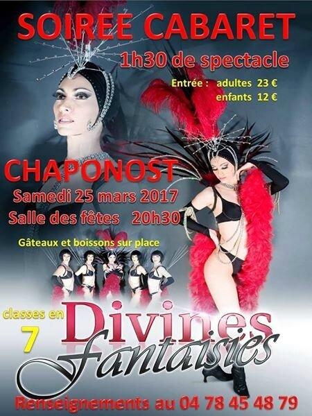 - Soirée Cabaret 25.03.2017 Chaponost