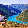Parcours à vélo vers les barrages et lacs de chaudanne et castillon,depuis castellane (verdon/alpes de haute-provence))