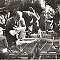 Louhans (s.et l.) marché des poulets 65--torcy (s.et l.). la plage des sapins sur le lac.1
