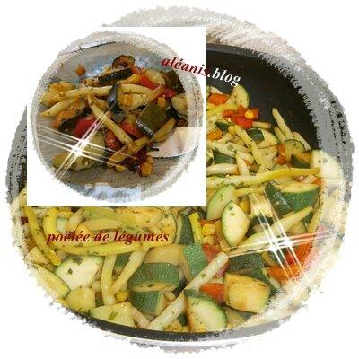 poêlée de légumes façon Nanou!!