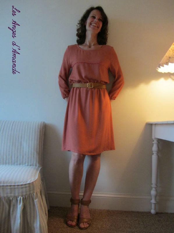 robe corail B1