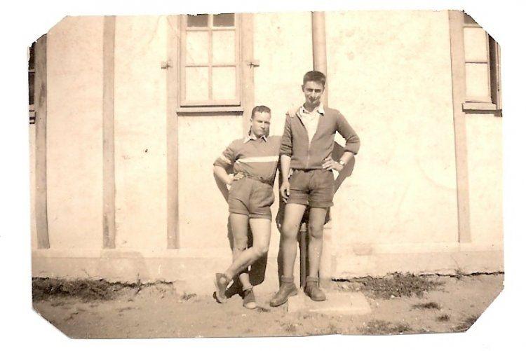Zilliox à droite Pauliac à gauche 1954