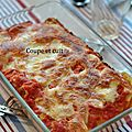 Cannellonis au thon, chèvre et tomates séchées