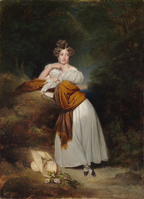 1828 - Sophie de Suède, grande-duchesse de Bade