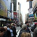 DAY 1 - Dans le quartier de Times Square