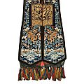 Deux costumes. chine, fin du xixème siècle