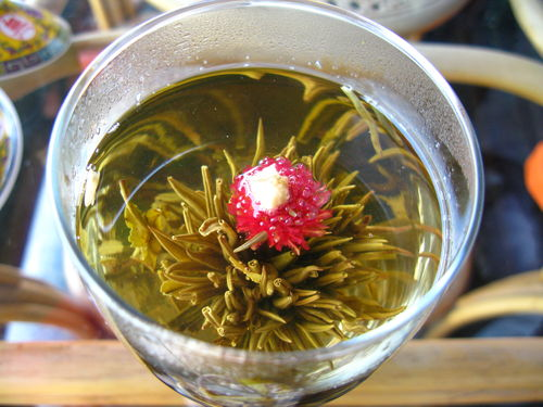 Thé à la fleur de pêche