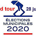 Municipales <b>2020</b> (3) : et le second tour arriva…