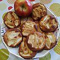 Mini gâteau aux pommes