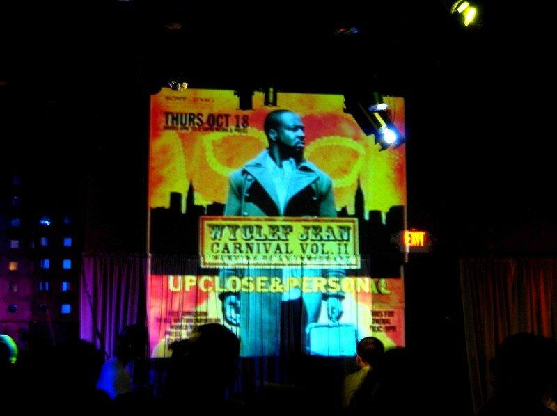 Le show Wyclef Jean, lancement officiel de son dernier album