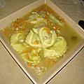 Soupe de légumes aux tortelloni