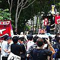 Manifs à hong-kong : visite mouvementée du président chinois hu jinato