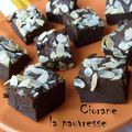 Brownie potimarron - chocolat