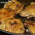 Poulet marocain - pollo marocchino