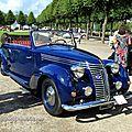 Fiat 6C 1500 Viotti cabriolet de 1939 (15 ex)(9ème Classic Gala de Schwetzingen 2011) 00
