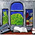 Bonhams to sell two unseen <b>Hockney</b> paintings new to the market that were gifted to a friend