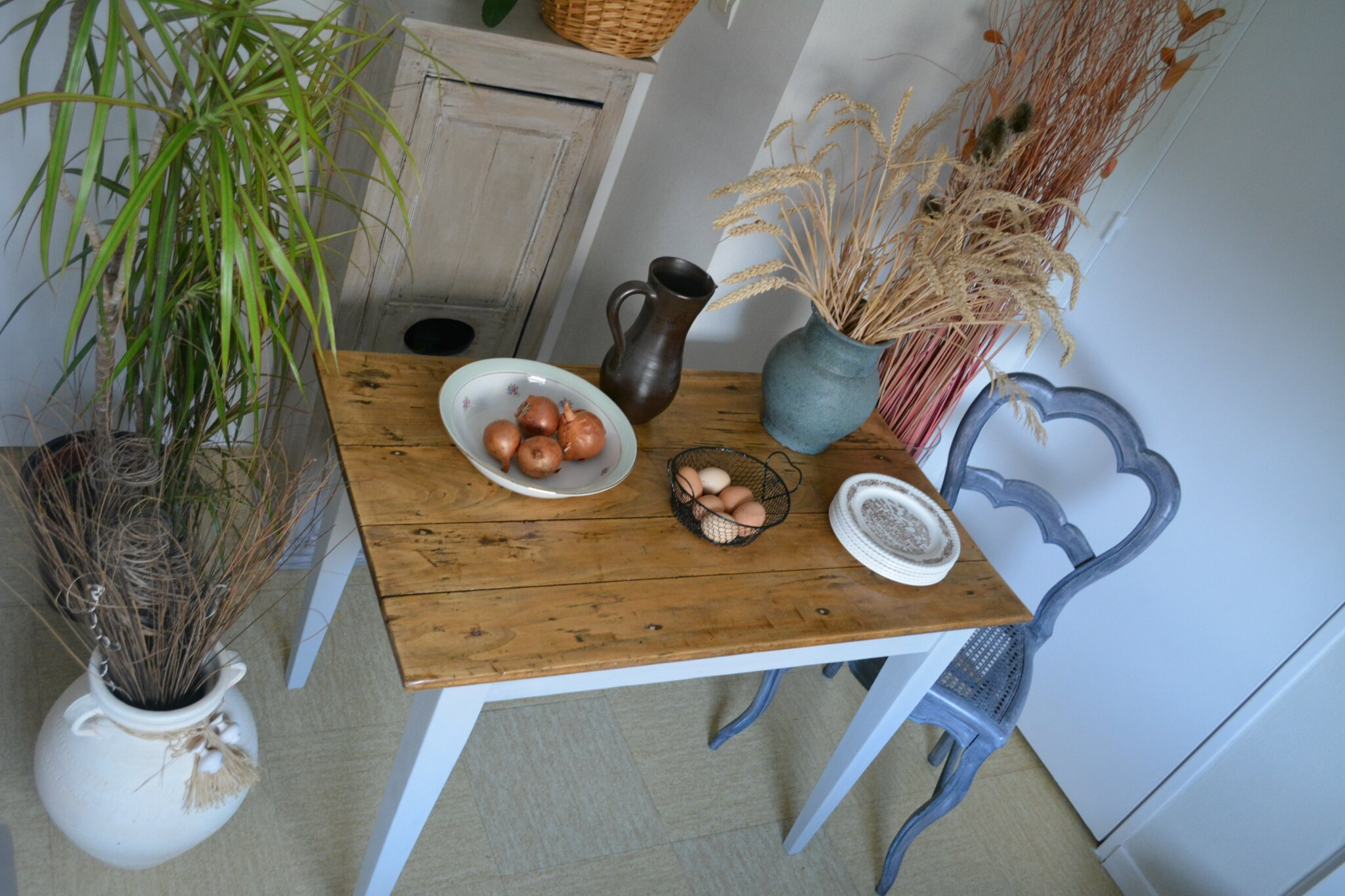Table style campagne