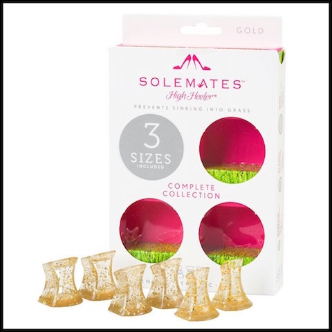 the solemates protections talons aiguilles gold