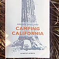 CAMPING CALIFORNIA, par Arnaud Devillard