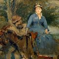 EVA GONZALES - La promenade à âne