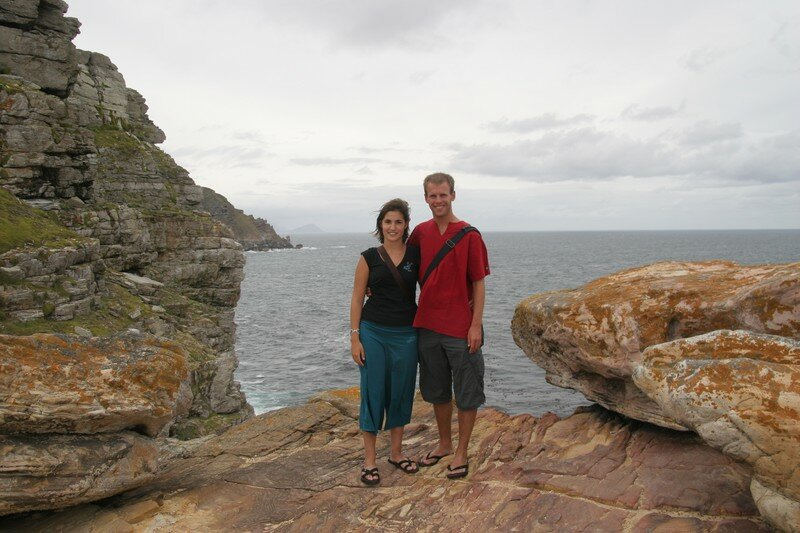 Nol & Jey on cape of good hope