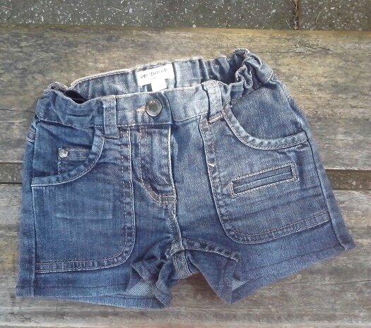 Short jean fille, 4 ans