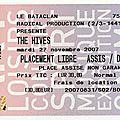 <b>The</b> <b>Hives</b> - Mardi 27 Novembre 2007 - Bataclan (Paris)