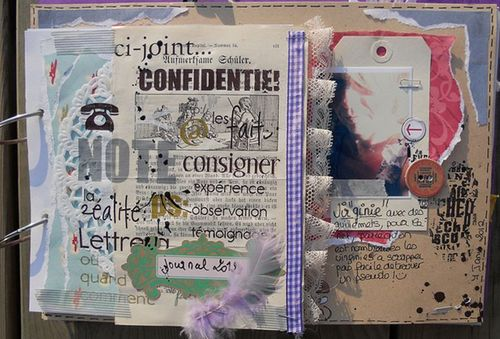 page d'accueuil, bom, journal, dairy ......