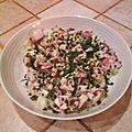 Salade nordique après la salade scandinave, la