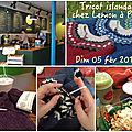 Tricot islandais, chez lemon à paris le dimanche 5 février