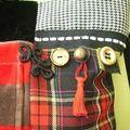 Sac patchwork détail