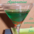 Cocktail aquamarine