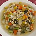 minstrone d'hiver aux crozets (<b>végétarien</b>)