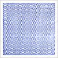 Quadrilobe bleu
