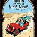Tintin au <b>Pays</b> de <b>L</b>'<b>Or</b> <b>Noir</b>