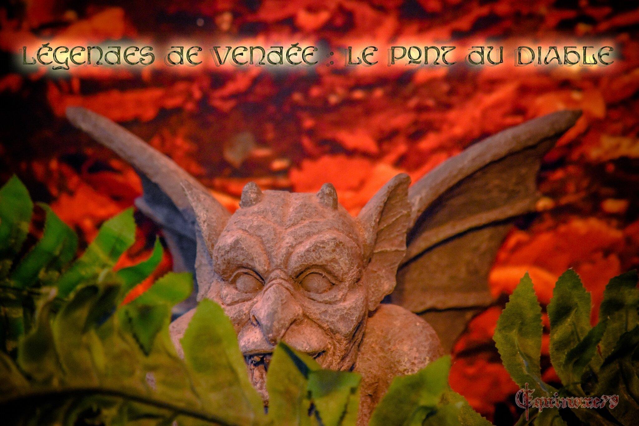 Légendes de Vendée : Le Pont du Diable