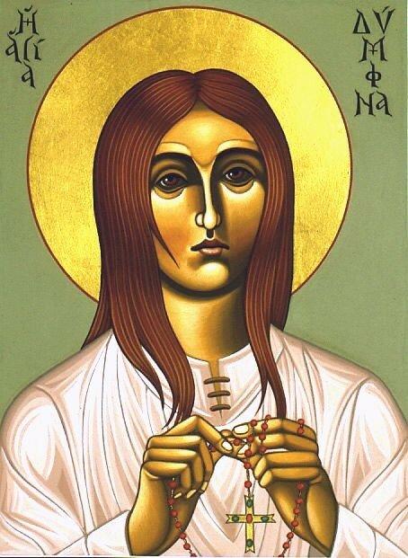 Sainte Dymphna 2