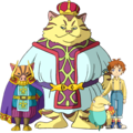 Ninokuni: queen of the holy white ash