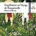 Supplément au voyage de bougainville ; diderot
