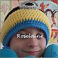 Roselaine bonnet minion