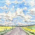 Défi des mousquetaires n°79 - nuages