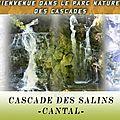 Série Cascades : Cascade de Salins -Mauriac -15-